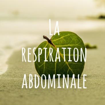 Exercice «  La respiration abdominale »