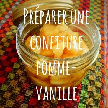 Tuto «Préparer une confiture pomme-vanille»