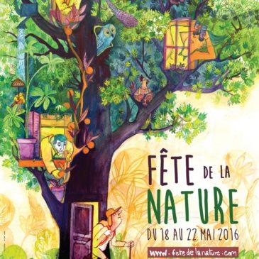 La fête de la nature du 18 au 22 mai