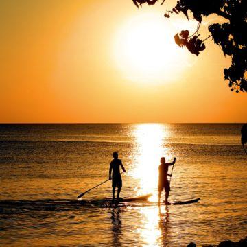 Le paddle, l'activité bien-être de l'été