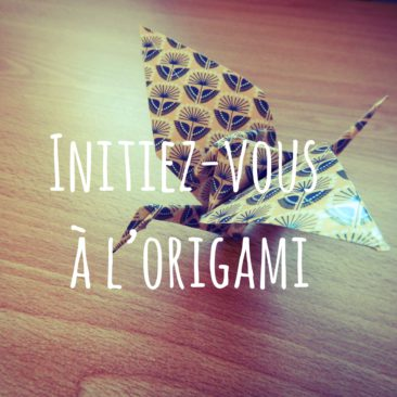 Initiez-vous à l'origami avec la grue