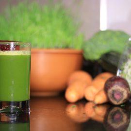 De délicieux jus de légumes !
