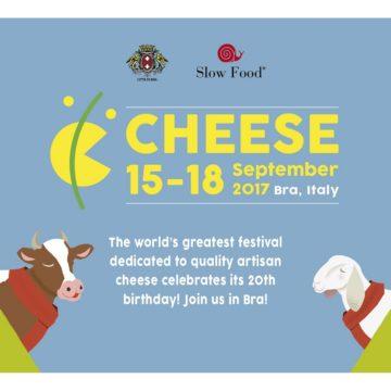 Cheese 2017, un événement Slow Food !